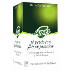 Té Verde con Flor de Jamaica Jaibel (X20) (X24)