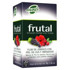 Aromática frutal Flor de Jamaica con piel de Uva y Arándano Jaibel (X20)
