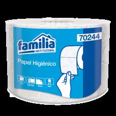 Papel higiénico convencional blanco triple hoja Familia