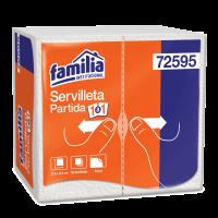 Servilleta partida Familia 150 und