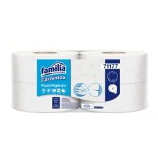 Papel Higiénico Jumbo Blanco Triple Hoja 170 mt  Familia ( Paca x 4 ) Disp 83410