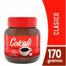 Café 170 GR Colcafé clásico Frasco