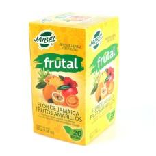 Infusión Frutal Frutos Amarillos Jaibel Caja x 20