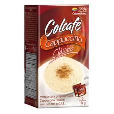 Cappuccino 18gr Colcafe Clásico  (Cajax6und) Capuchino