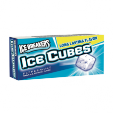 Chicle Ice Cubes menta azul