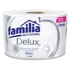 Papel Higienico Trad Bco 33 MTS Triple Hoja Familia UND (Paca X 24)