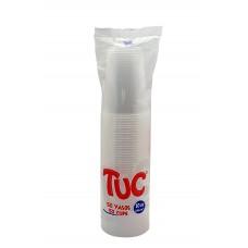 Vaso 10 onzas transparente TUC X50