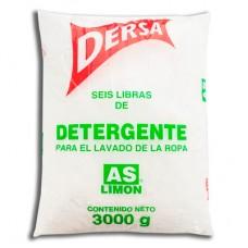 Detergente Dersa Limón 3Kg UND (Caja X6)