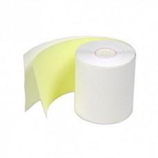 Rollo químico copia amarilla 76X30 paquete por 6