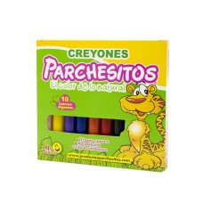 Creyones Parchesitos X10 Jumbo