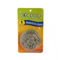 Esponjilla de acero espiral 20GR Eterna