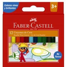 Creyones X12 colores Faber Castell