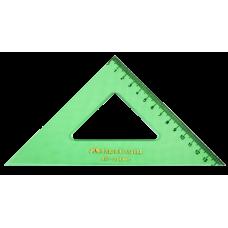 Escuadra 45°-21 cm Faber Castell