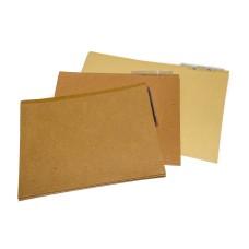 Folder Celuguía Carta Horizontal Café FABRIFOLDER UND (X600)