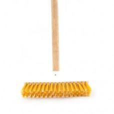 Cepillo de piso sencillo mango de madera