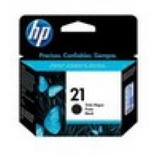 Cartucho de inyección de tinta negro HP 21 DJ