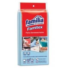 Limpión Cocina Familia Azul Doblado X10paños (CAJAX15BOLSAS)