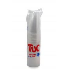 Vaso 12 onzas transparente TUC X50