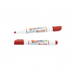 Marcador borrable rojo Doricolor (x10)