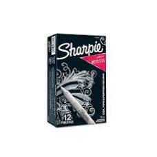 Marcador plata metálico Sharpie (x12)