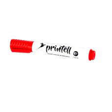 Marcador borrable rojo Printell (x12)