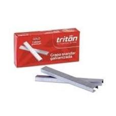 Gancho cosedora 26/6 galvanizada 5000 Triton grapas