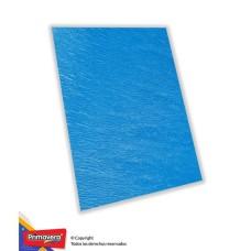 Papel crepe azul medio x10 Primavera