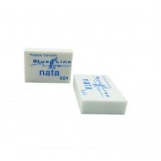 Borrador Nata 624 Pequeño Caja X (24 und) Linea azul