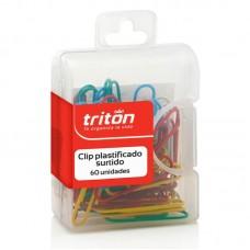 Clip plásticos estándar estuche x60 Triton