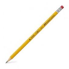 Lápiz FABE CASTELL  HB no2 presto triangular amarillo