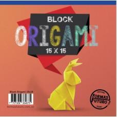BLock origami 15 x 15 cm.