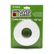 Cinta doble faz con espuma Diver Class 5mts dc 02