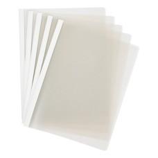 Carpeta carta Bisel Transparente x5 policover