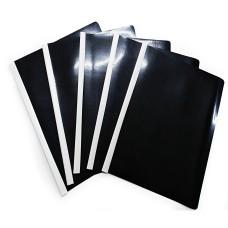 Carpeta Bisel Oficio X 5 Negro