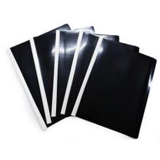 Carpeta carta Bisel Negro x5 Policover