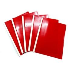 Carpeta carta Bisel Rojo x 5 Policover