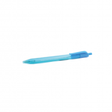 Bolígrafo Kilometrico Retractil 100 Azul Claro Turquesa