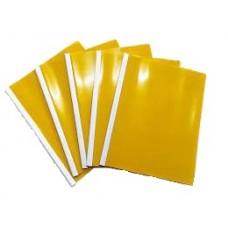 Carpeta Bisel Oficio Fabrifolder X 5 Amarilla