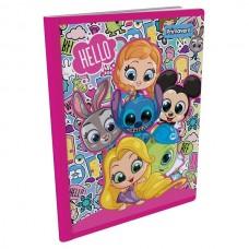 Cuaderno cosido 50 hojas c/rayado Disney Primavera.