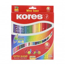 Colores doble punta Kores 24/48 3mm