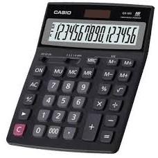 Calculadora Casio 16 Dígitos GX16S 2 Memorias