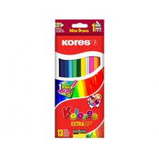 Colores Kores X13 Triangulares 4mm