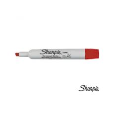 Marcador Permanente Sharpie Tank Rojo