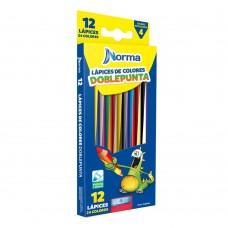 Colores doble punta Norma 12/24