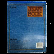 Block 1/2 carta sin rayas 80 Hojas Jean Book Norma