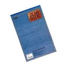 Block 1/2 carta con rayas 80 Hojas Jean Book Norma