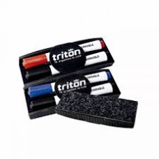 Borrador Kit Tablero 2 Marcador + Borrador Triton