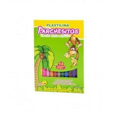 Plastilina Parchesitos X13 Larga