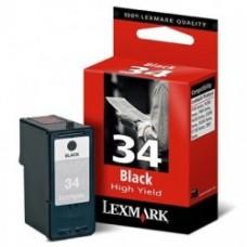 Cartucho Lexmark 34 Original Negro
