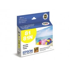 Cartucho Epson 81 amarillo Original